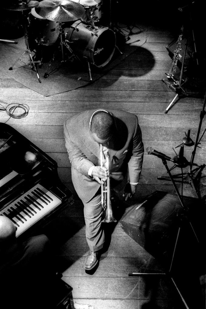 "O trompetista Nicholas Payton se apresenta no Bourbon Street Music Club, em S ""o Paulo, 2001."